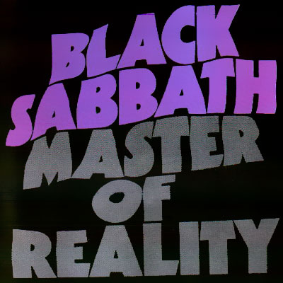 Black Sabbath - The Black Box-CD3 -  Master Of Reality -  Front